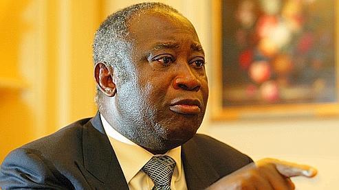 Crédits photo : Le Figaro. Le président ivoirien, Laurent Gbagbo
