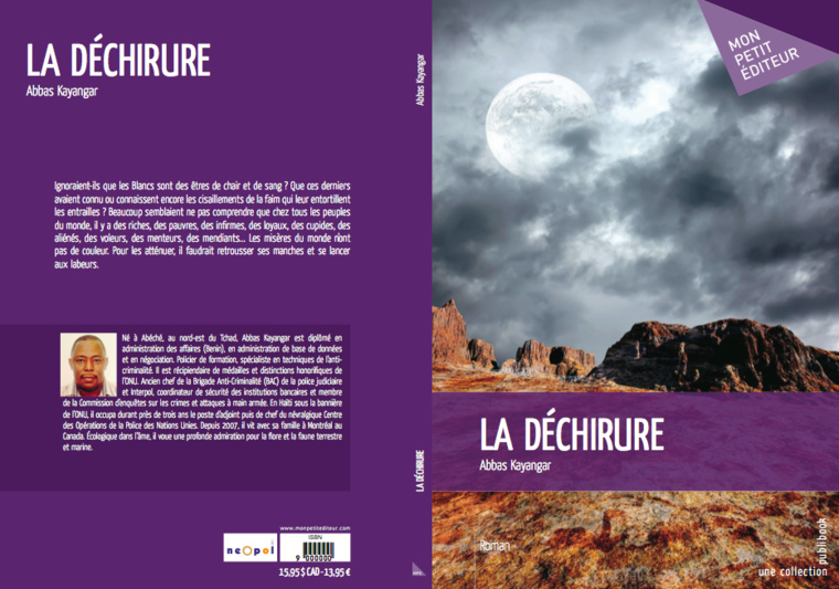 """""""La déchirure"""", un chef-d'oeuvre littéraire écrit par le tchadien Abbas Kayangar."""
