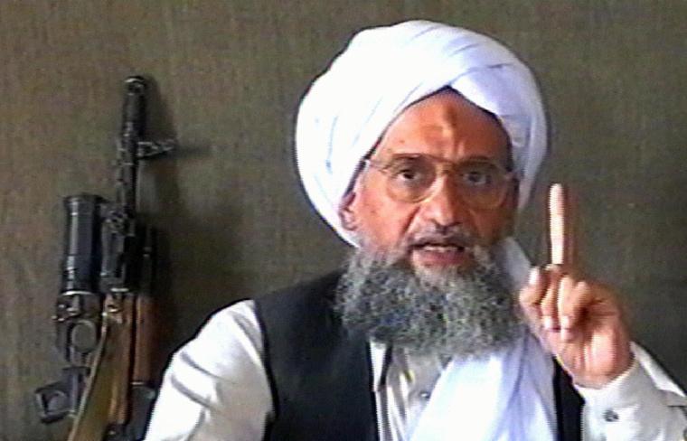 Le chef d'Al-Qaïda Ayman al-Zawahiri