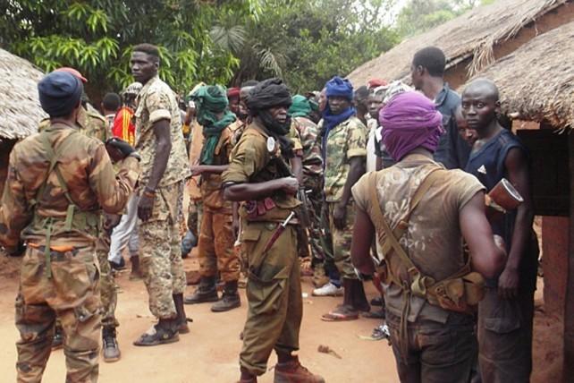 Des combattants de l'ex-Séléka. (Photo: Archives/Réseau des journalistes centrafricains des droits de l'homme)