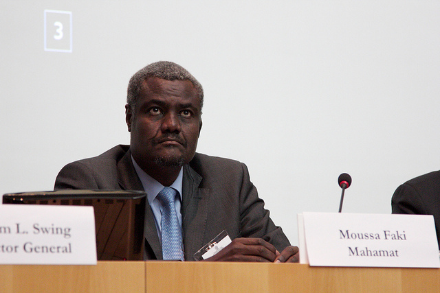 Minister of Foreign Affairs and African Integration, Chad  © IOM 2012 (Photo: Patrice Quesada)
