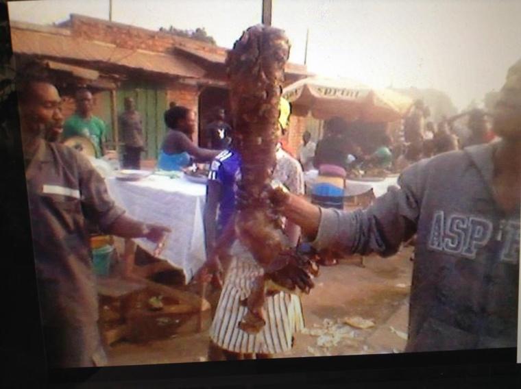 Bangui : Des jambes rôties d'êtres humains en vente dans un marché