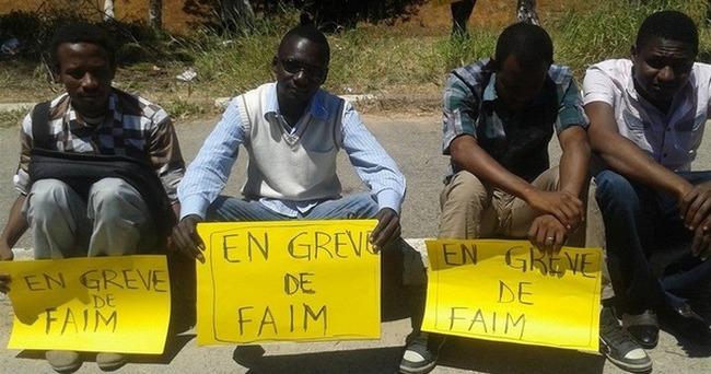 Des étudiants tchadiens d'Algérie en grève de la faim.