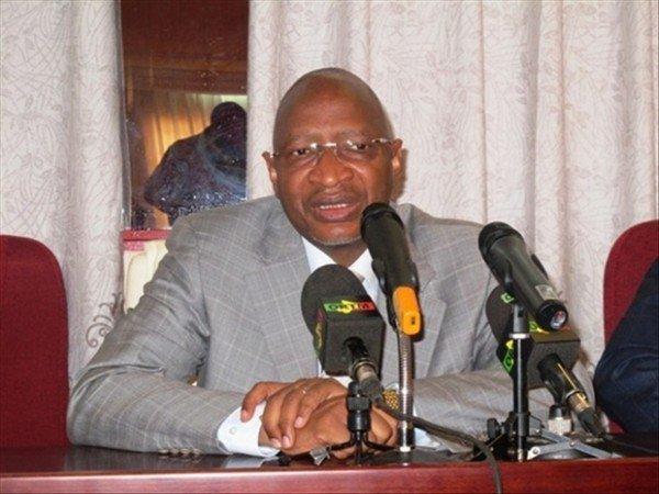 Le ministre Soumeylou B Maïga