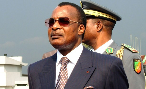 Président Denis Sassou Nguesso. Photo: Laudes Martial Mbon/IRIN