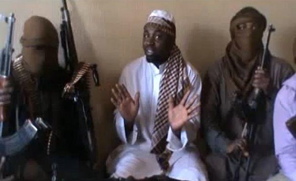 Le chef de Boko Haram. Capture écran.