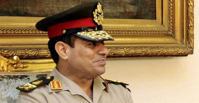 Le général Abdel Fatah al-Sissi Sipa press