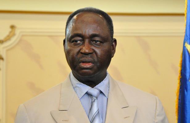 François Bozizé en 2012 à Bangui. SIA KOUMBA/AFP
