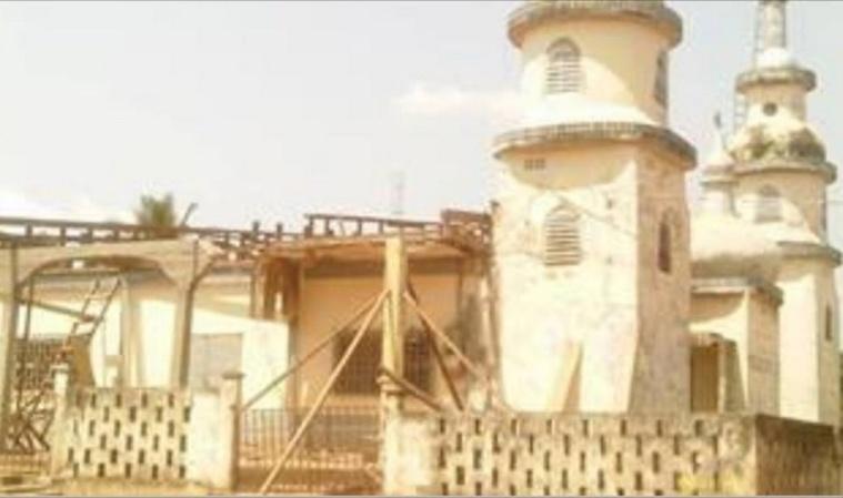 Centrafrique : Destruction de la mosquée historique de Berbérati