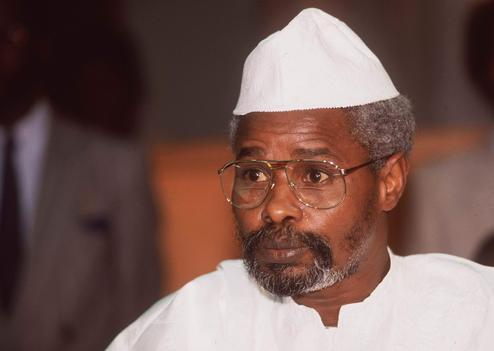 Hissein Habré. Crédit photo : Sources