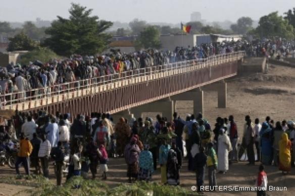 Le pont N'Gueli. Reuters