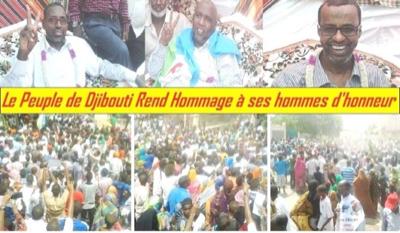 Djibouti : Après 18 mois de détention arbitraire, les trois leaders de l'opposition USN sont enfin libres
