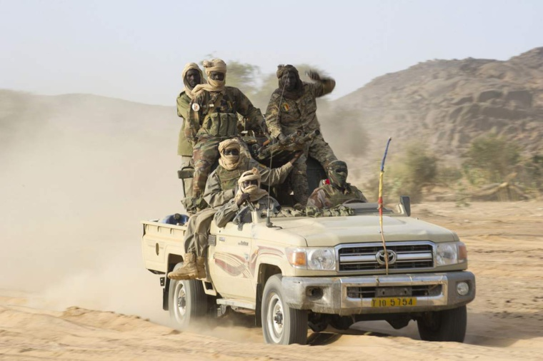Des soldats tchadiens au Mali/ Crédit photo : Sources