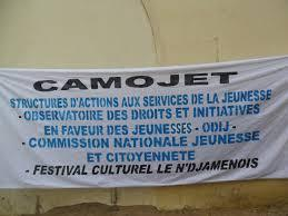 Banderole du CAMOJET. Crédit photo : //