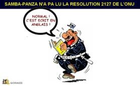 HUMEUR/ Samba-Panza «Bout de feu» des rebellions !