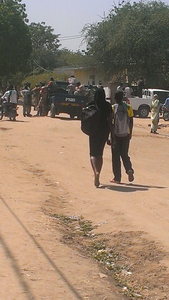 Tchad : Plusieurs élèves arrêtés suite à des manifestations, deux blessés à Sarh. Crédit photo : Alwihda Info/D.W.W.
