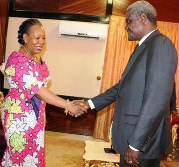 RCA : Samba-Panza reçoit le chef de la diplomatie tchadienne