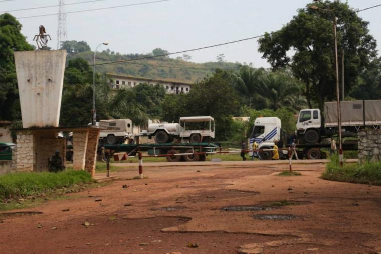 Bangui : Des combattants veulent faire exploser un camp avec 4 tonnes d'explosifs; Crédit photo : DIASPORA MEDIA