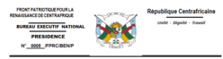 Rca: mesures sélectives et discriminatoires prises à l'encontre de nos deux cadres de l'ex Coalition SELEKA