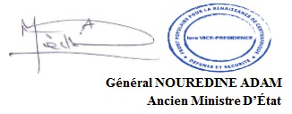 RCA : 72 heures aux autorités pour rappeler ses fonctionnaires dans les zones contrôlés (Nourredine Adam)