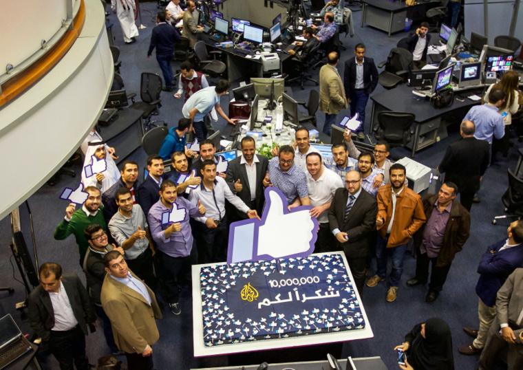 Al Jazeera Arabic exceeds 10 million followers on Facebook