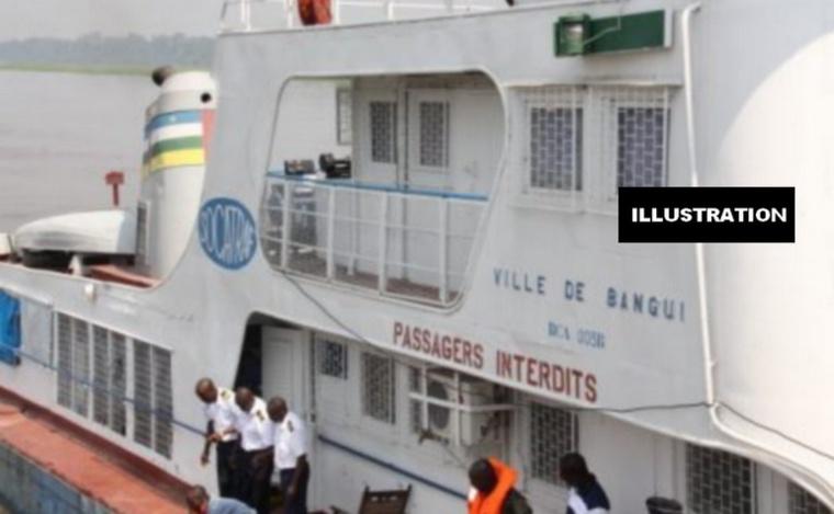 DEPECHE/Au moins 100 personnes portées disparues dans un accident de bateau en Centrafrique