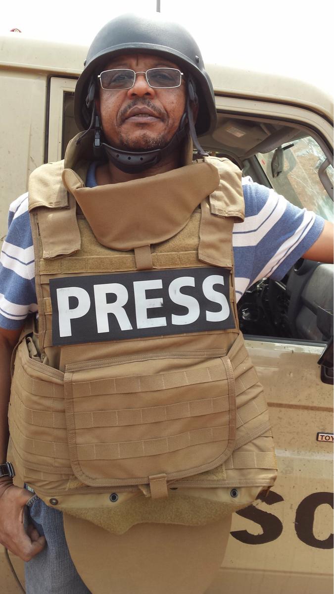 Le journaliste Urbain Jansé.