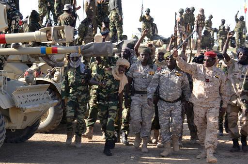 Des soldats de l'armée tchadienne. Crédit photo : Sources
