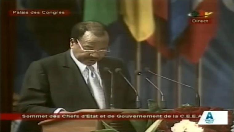 """Cameroun : Le Président Biya rend hommage au Tchad pour sa """"bravoure et son courage"""""""