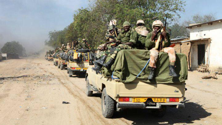 Des soldats tchadiens. Crédit photo : Source