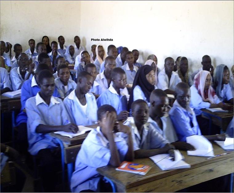 Une salle de classe à N'Djamena. Alwihda Info
