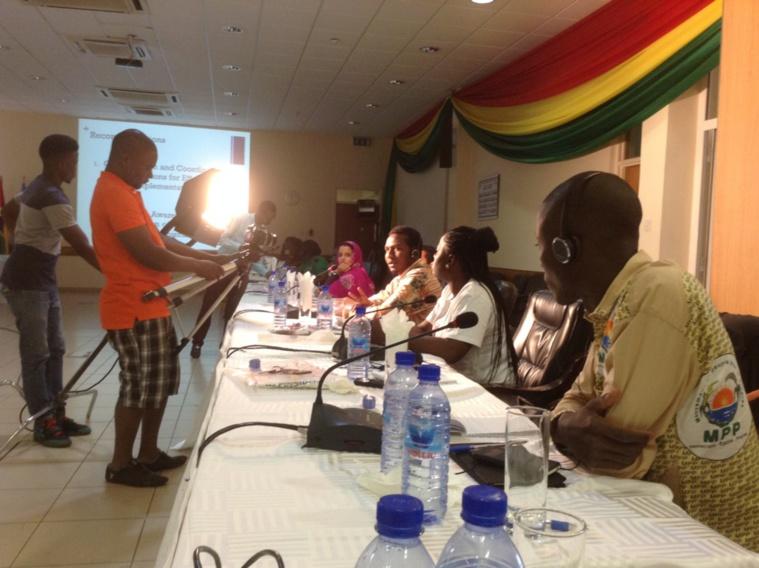 Déclaration de Brahim Ibni Oumar Mahamat Saleh au comité Afrique des jeunes socialistes: