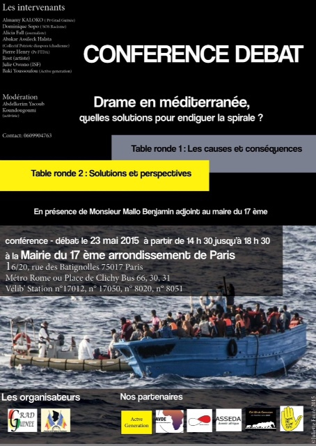 Drame en Méditerranée : quelles solutions pour endiguer la spirale ?