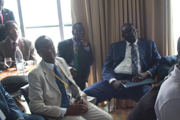 Les membres de la délégation tchadienne à Abidjan. Alwihda Info