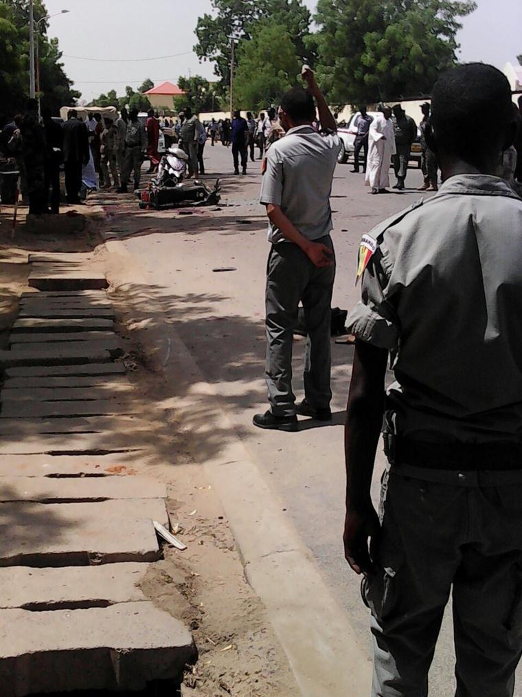 """Tchad : """"Les tchadiens ne cèderons jamais à la terreur"""", assure Hassan Sylla. Crédit photo : Alwihda Info/D.W.W."""