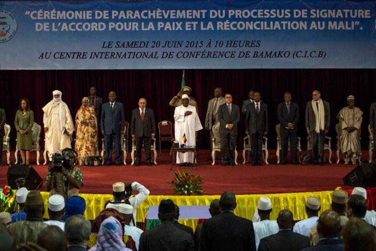 Mali: L'U.A se felicite de la signature par les rebelles d'Azawad, de l'accord de paix
