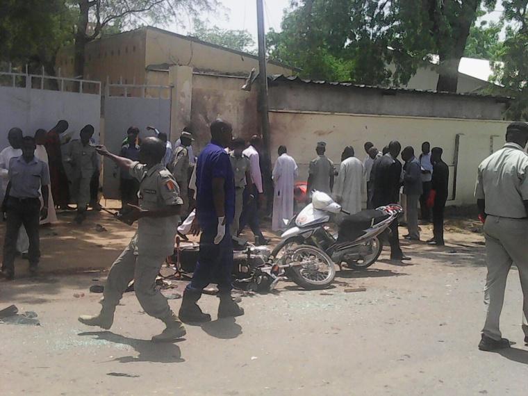Le lieux des attentats terroristes à N'Djamena. Alwihda Info/D.W.W