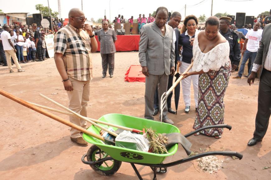 Congo Brazzaville : L'ADC en ordre de bataille contre l'insalubrité des quartiers Diata et Ngangouoni
