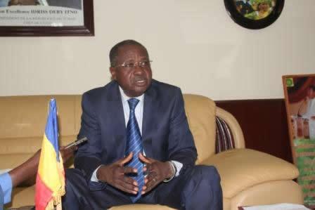 Le Ministre de l'Administration du Territoire et de la Sécurité Publique, Abderahim Biremé.