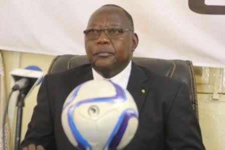 Le Président de la Ligue Nationale de Football (LINAFOOT), le Général Mbaïhondé Dionadji Alain.