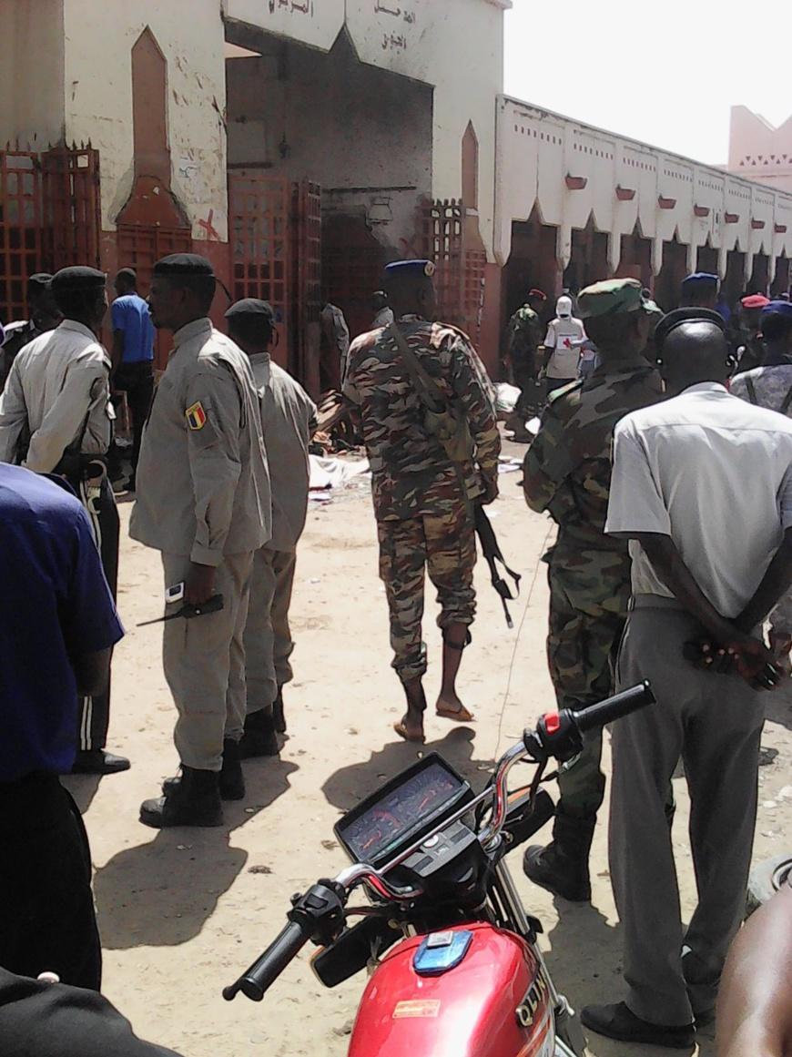 "La CEEAC condamne ""avec la plus grande fermeté"" l'attentat de N'Djamena. Alwihda Info/D.W.W."