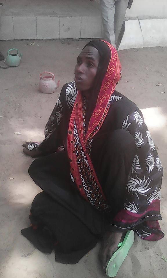 Tchad : Un homme habillé en femme arrêté après l'attentat du grand marché. Crédit photo : Tchad Baladia
