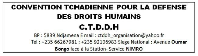 Tchad : La CTDDH dénonce la tentative de musellement de la presse