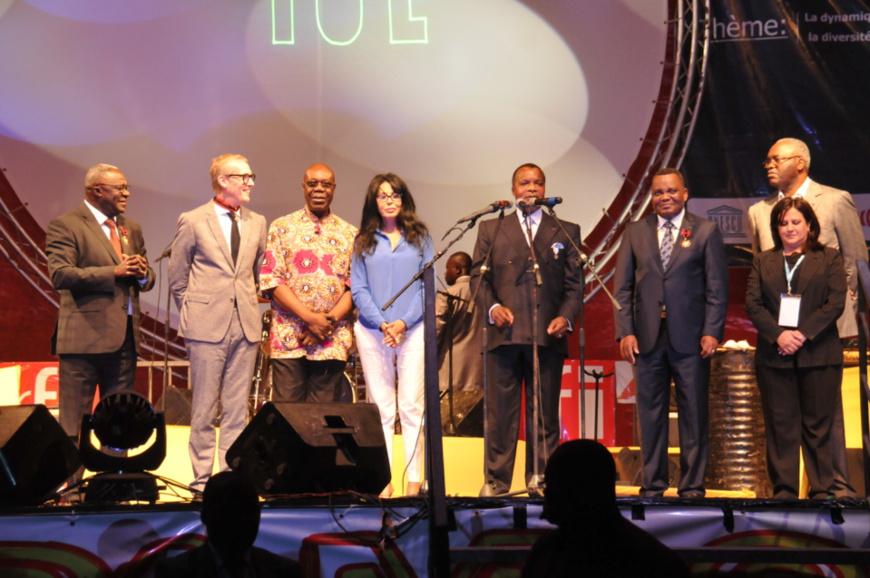 FESPAM : la flamme de la 10 ème édition allumée par Denis Sassou Nguesso à Brazzaville