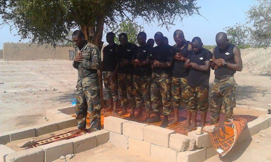 Cameroun-Lutte contre Boko Haram:Le premier maitre Adamou Pierre est mort hier soir au front!