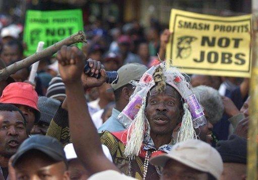 Afrique du Sud: léger reflux du chômage à 25% au 2e trimestre