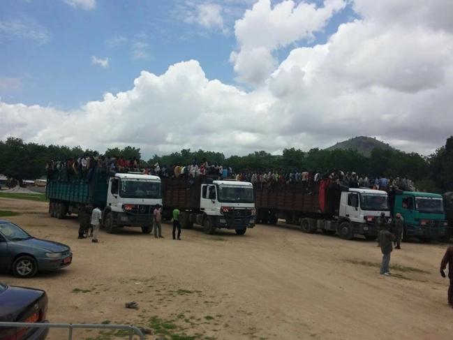 Le Cameroun expulse 2.500 nigérians dans des camions de marchandises