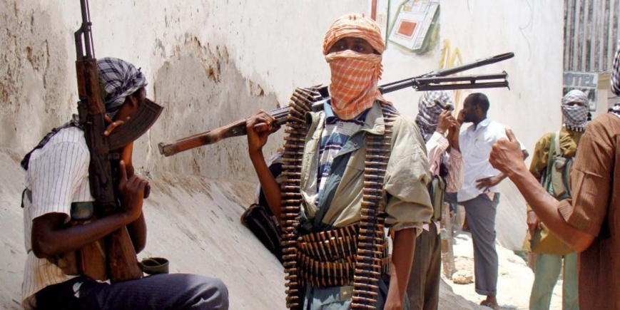 Des miliciens de Boko Haram au Nigeria. Crédit photo : Sources
