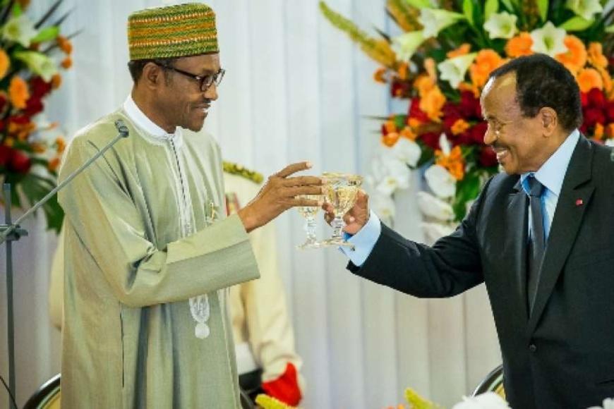 Buhari et Biya. Crédit photo : Sources