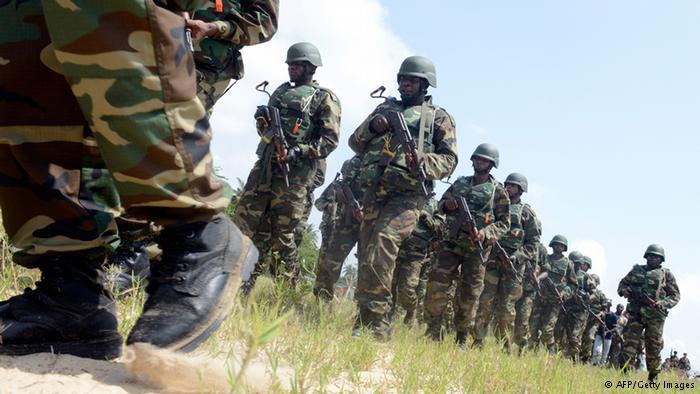 L'armée nigériane. AFP